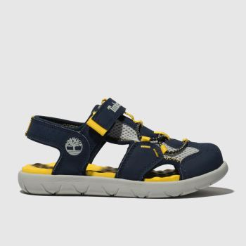 Timberland Navy Perkins Row Fisherman c2namevalue::Boys Toddler