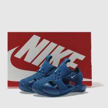 Boys blue nike sunray protect 2 trainers  b4cb25135