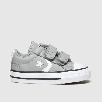 Converse Grey Star Player 2V Mars Boys Toddler