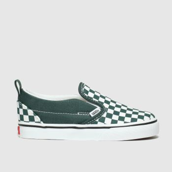 Vans Dark Green Slip-On Boys Toddler