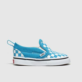 Vans Blue Slip-on V Boys Toddler
