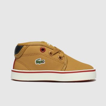 Lacoste Tan Ampthill Thermo Boys Toddler
