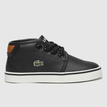 Lacoste Black Ampthill Boys Toddler
