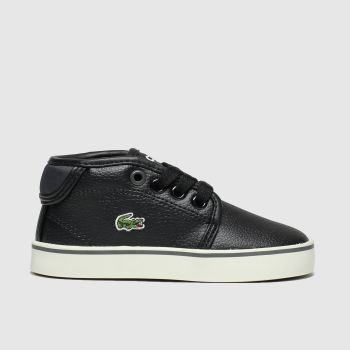 Lacoste Black & Grey Ampthill Boys Toddler
