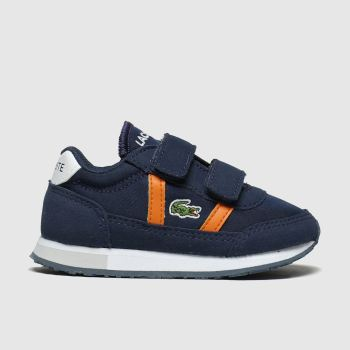 Lacoste Navy & Orange Partner Boys Toddler