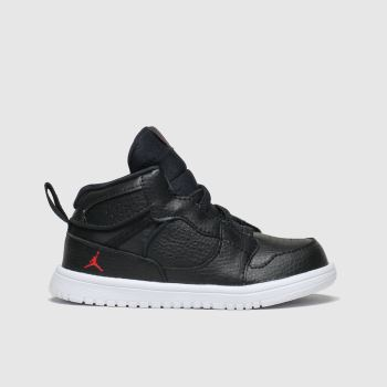 Nike Jordan Black & Red Jordan Access Boys Toddler