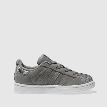 Adidas Grey Superstar Boys Toddler