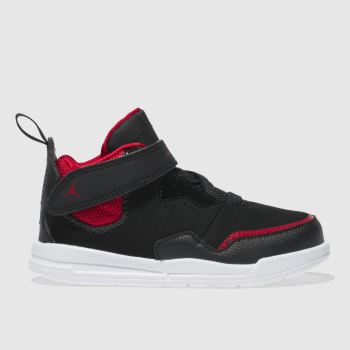Nike Jordan Black & Red Courtside 23 Boys Toddler