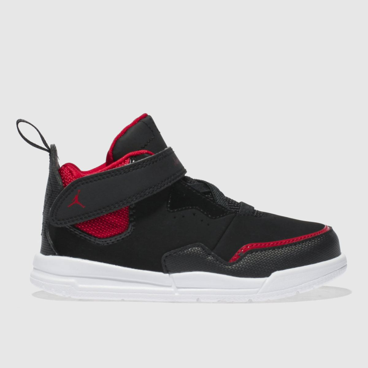 online store 54b87 d20c3 Nike Jordan Black   Red Courtside 23 Trainers Toddler