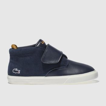 Lacoste Navy ESPARRE CHUKKA Boys Toddler