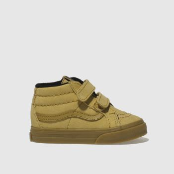 Vans Tan Sk8-Mid Reissue V Boys Toddler