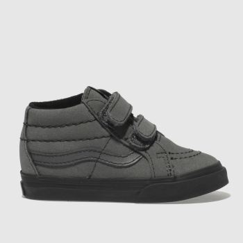 Vans Dark Grey Sk8-Mid Reissue V Boys Toddler
