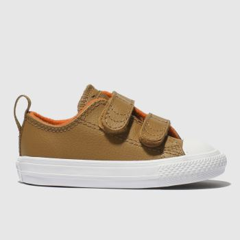 Converse Tan Chuck Taylor All Star 2V Boys Toddler