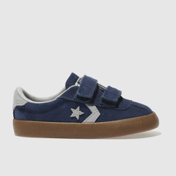CONVERSE NAVY & GREY BREAKPOINT OX BOYS TODDLER TRAINERS