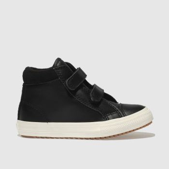 Converse Black All Star Hi 2V Pc Boys Toddler