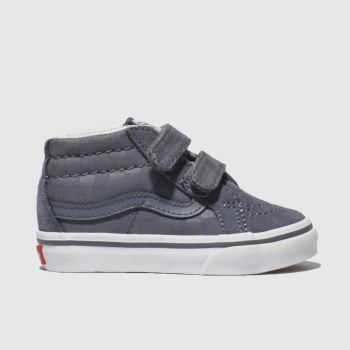619ac51afba1 Vans Blue Sk8 Mid Reissue Boys Toddler