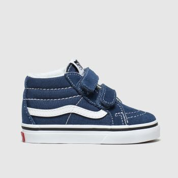 Vans Navy Sk8 Mid Reissue Boys Toddler