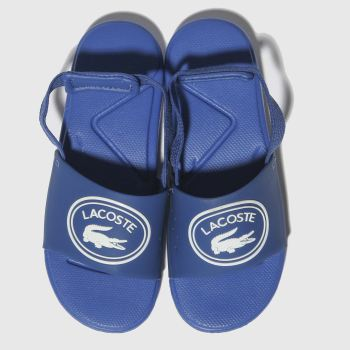 Lacoste Blue L.30 Slide Boys Toddler