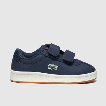 Lacoste Navy & Orange Masters Boys Toddler