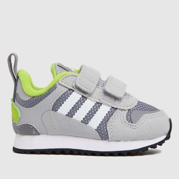 adidas Light Grey Zx 700 Hd Boys Toddler