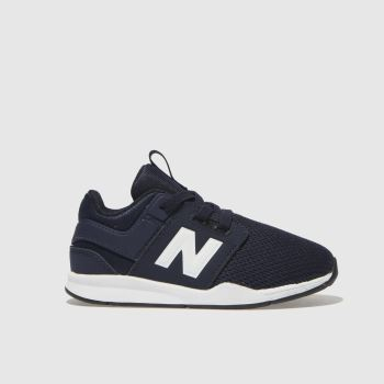 New Balance Navy & White 247 Boys Toddler