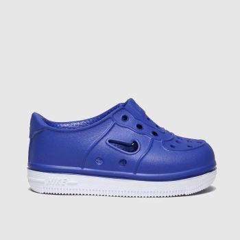 Nike Blue Foam Force 1 Boys Toddler