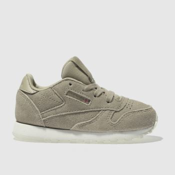 REEBOK TAN CLASSIC LEATHER MCC TRAINERS TODDLER