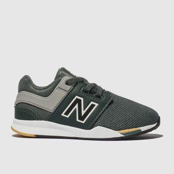 New balance khaki 247 trainers toddler