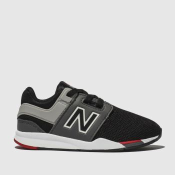 New Balance Black & Grey 247 Boys Toddler