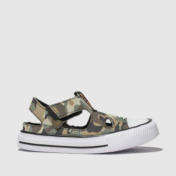Converse Khaki All Star Superplay Sandal Boys Toddler