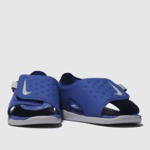 421edd151a88 Boys blue nike sunray adjust 5 trainers