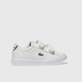 Lacoste White CARNABY EVO Boys Toddler
