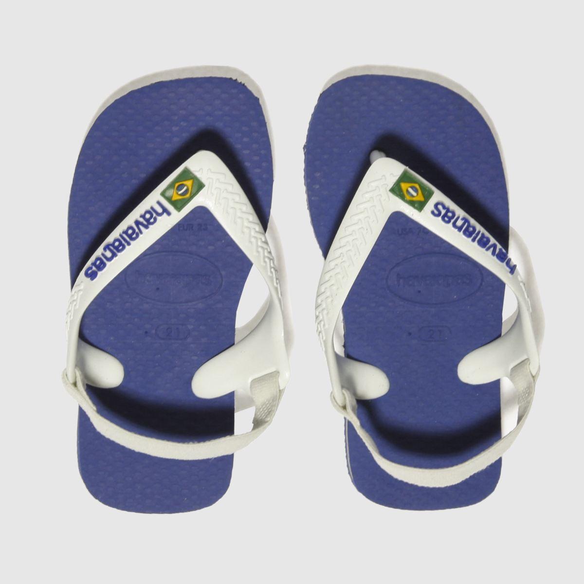 de6813e4b Havaianas Blue Brasil Logo Trainers Toddler - Schuh at Westquay - Shop  Online