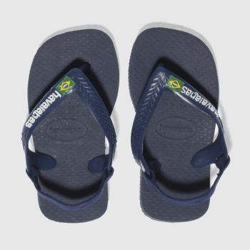 Havaianas Navy Brasil Logo c2namevalue::Boys Toddler