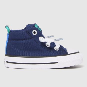 Converse Navy Street Mid Boys Toddler