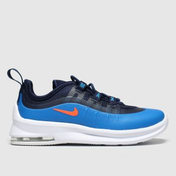 Nike Black and blue Air Max Axis Boys Toddler