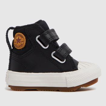 Converse Black Berkshire Boot 2v Boys Toddler