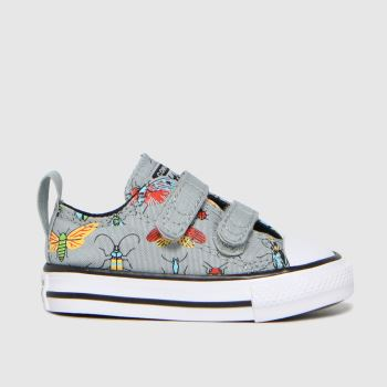Converse Grey Lo 2v Bugged Out Boys Toddler