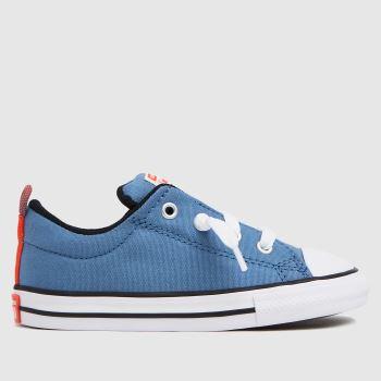 Converse Blue Street Slip Boys Toddler