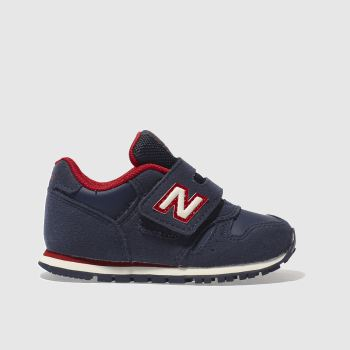 New Balance Navy & Red 373 Boys Toddler