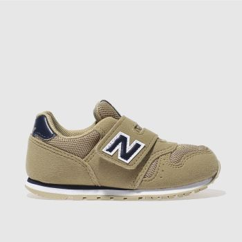 New Balance Tan 373 Boys Toddler