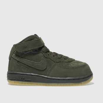 Nike Khaki Air Force 1 High Lv8 Boys Toddler