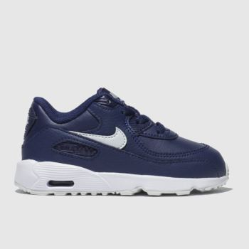 nike blue air max 90 trainers toddler