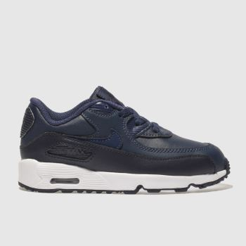 Nike Navy Air Max 90 Boys Toddler