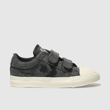 Converse Black Star Player 2V Ox Boys Toddler