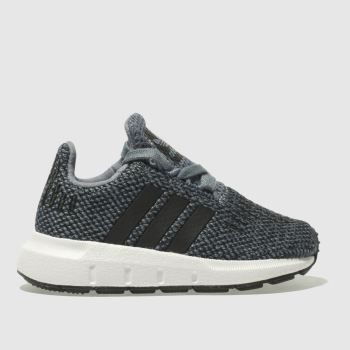 Adidas Grey Swift Run Boys Toddler