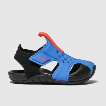 nike blue sunray protect 2 sandals toddler