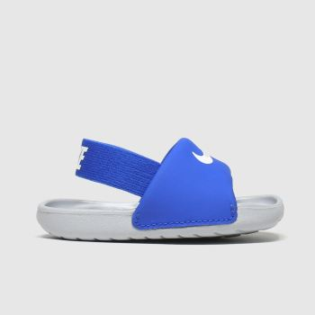 Nike Blue Kawa Slide Boys Toddler#