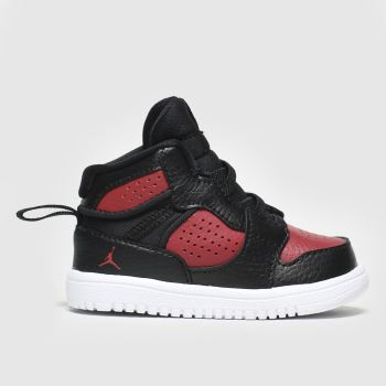 Nike Jordan Black & Red Access Boys Toddler