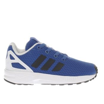 ADIDAS BLUE ZX FLUX BOYS TODDLER TRAINERS